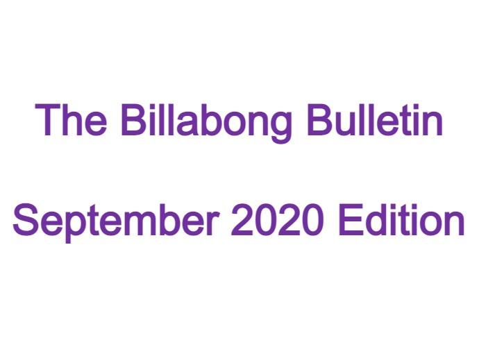 Billabong Bulletin – September 2020 Edition