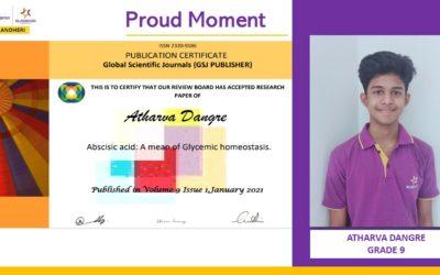 Global Scientific Journal – Atharva Dangre